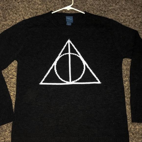 Warner Bros Sweaters Harry Potter Knit Sweater Poshmark